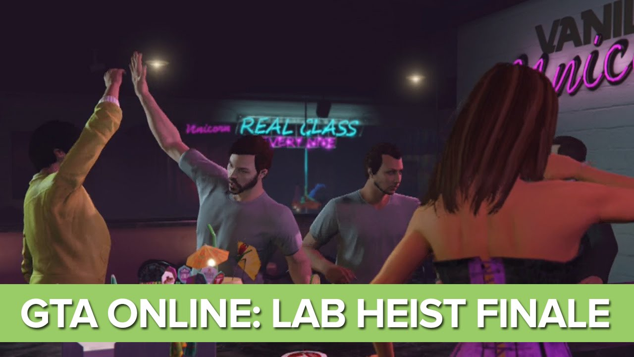 Let's Play GTA Online Heist Humane Labs – THE FINALE (Part 6/6)