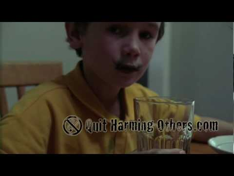 Passive smoking - Children forced to consume thousands of chemicals video