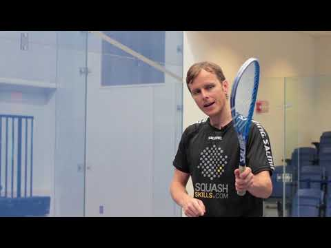 Squash tips: Improve your forehand with Peter Nicol!