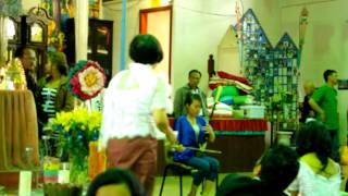 Khmer Culture - Srey Khmer Kot Thro at Wat Buddharangsi Melbourne 13/042013