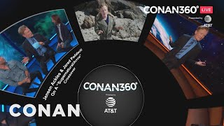 Step inside the CONAN360° Screening Room to catch up on night one of #ConanCon on your own terms. Thx 2 AT&T.