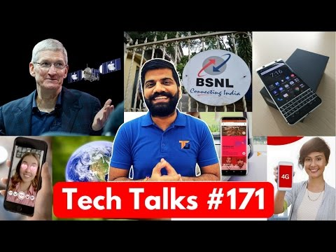 Tech Talks #171 - BSNL 333Rs 270GB, AirTel Leads, ISRO Venus Mission, HTC U11, Whatsapp & Siri (видео)