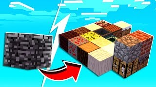 Minecraft Skyblock but Every 5 Seconds a Random Item Spawns