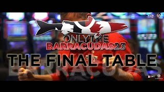Casinò Di Campione: Only The Barracudas THE FINAL TABLE