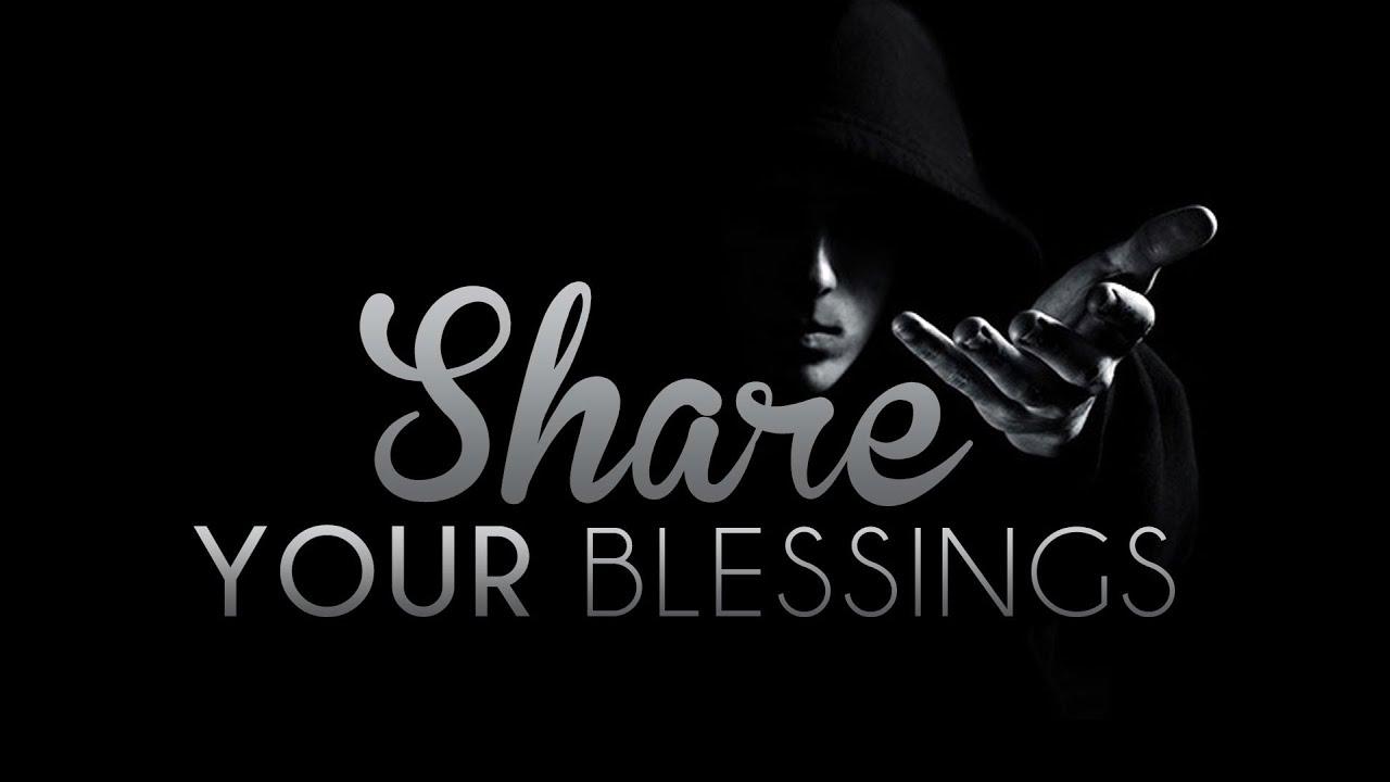 Share Your Blessings – MercifulServant