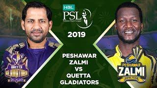 Match 23: Full Match Highlights Peshawar Zalmi Vs Quetta Gladiators | HBL PSL 4 | HBL PSL 2019