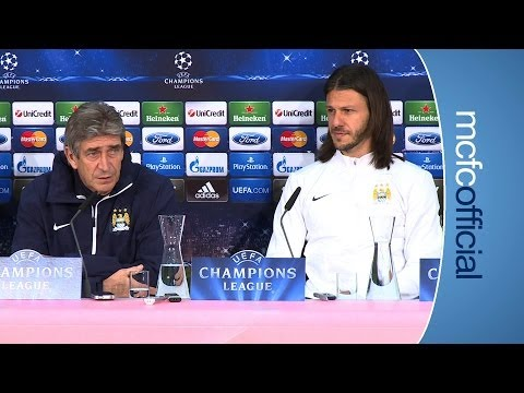 City - Manuel Pellegrini and Martin Demichelis share their thoughts ahead of City's Champion's League match against Bayern Munich tomorrow night Subscribe for FREE ...