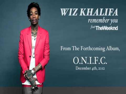 Wiz Khalifa   Remember You ft The Weeknd [Audio]