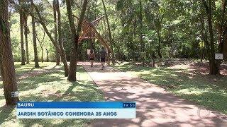 Jardim Botânico completa 25 anos como um dos espaços mais visitados de Bauru