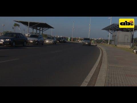 Costanera: habilitan tránsito vehicular