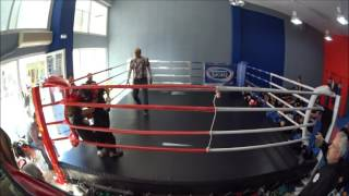 Fight Academy Peramatos Sanda sparring