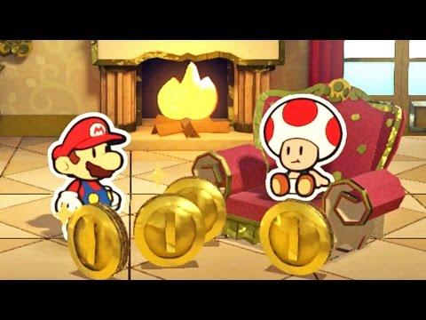 Paper Mario Color Splash #10: Daffodil Peak - Wii U Gameplay