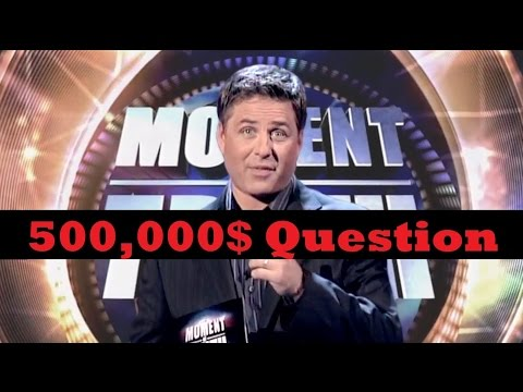[Moment of Truth] 500,000$ Question (Question 21)