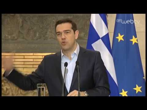 Κοινές δηλώσεις του Πρωθυπουργού Αλέξη Τσίπρα και του Πρωθυπουργού της Γαλλίας κ. Καζνέβ