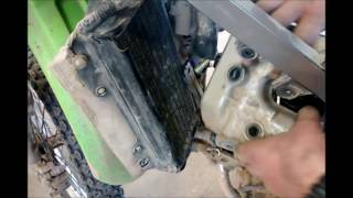 2. KLX250 Valve Clearance Check