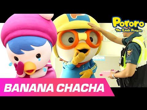 Banana Cha Cha Music Video | Pororo Playday - The lost wallet | MOMOLAND X Pororo
