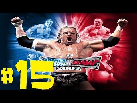 WWE Smackdown VS Raw 2007 Season Mode Playthrough Ep. 15 - KURT ANGLE'S A WOMAN?!?!