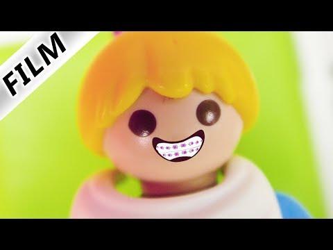 Familie Vogel: HANNAH BEKOMMT ZAHNSPANGE! BEIM ZAHNARZT MIT MAMA + DAVE - Playmobil Film Deutsch