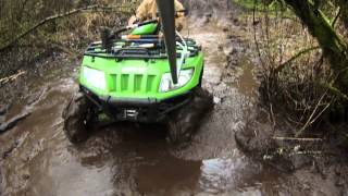 6. ARCTIC CAT 650 H1 4X4 MUDDING AND FAST TRAIL 2