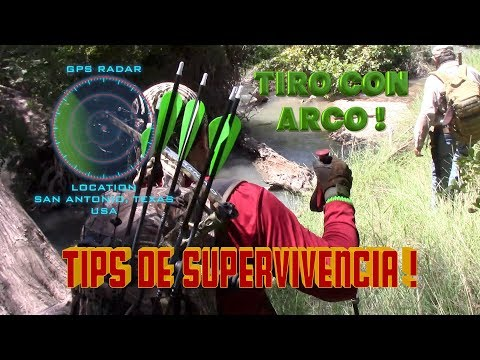 Kit De Supervivencia Y Pesca * Tips De Supervivencia * Ka-bar Bk2 *  Y Tiro Con Arco !
