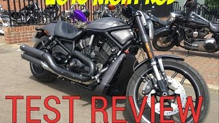 10. 2016 Harley Davidson Night Rod first ride review