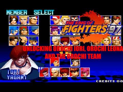 Video The King of Fighters 97 - Unlocking Orochi Iori, Orochi Leona, and Orochi Team (Arcade Version) download in MP3, 3GP, MP4, WEBM, AVI, FLV January 2017