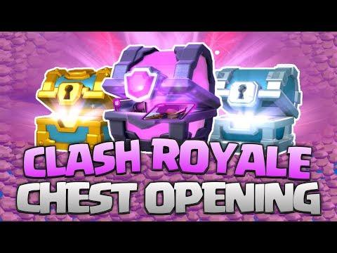 OTEVÍRÁME 9 BEDEN!!! Clash Royale Chest Opening