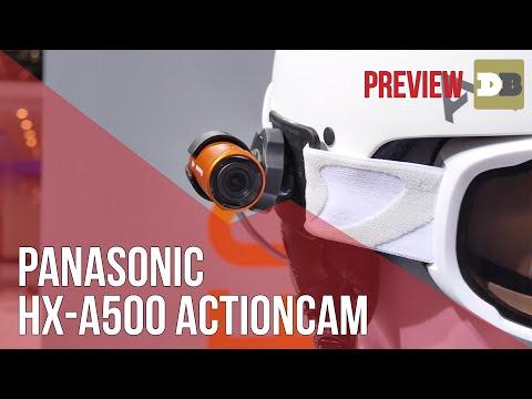 Panasonic HX-A500 Wearable camera – IFA 2014