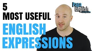 Video 5 MOST USEFUL English expressions that you didn't learn at school! MP3, 3GP, MP4, WEBM, AVI, FLV Maret 2019