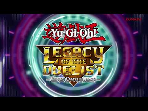 Yu- Gi-Oh! Legacy of the Duelist: Link Evolution Release Date Trailer (Switch)