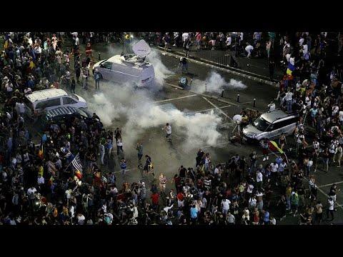 Rumänien: Proteste und Demonstration gegen Korrupti ...