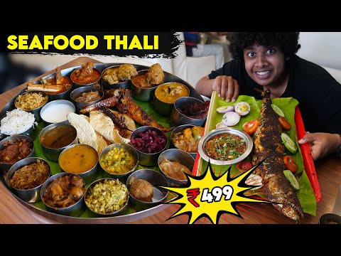 Seafood Feast at Rs 499/- | Aazhi Seafood Mess, Chennai | Irfan's view