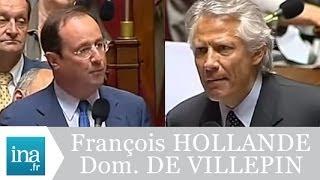 Video Incident à l'Assemblée : Dominique de VILLEPIN et François HOLLANDE - Archive Ina MP3, 3GP, MP4, WEBM, AVI, FLV Oktober 2017