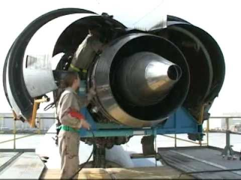 KC-10 Aircraft Engine Maintenance