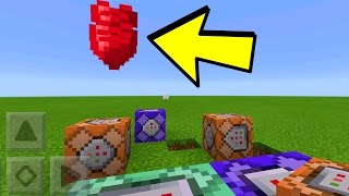 NEW Minecraft Pocket Edition COMMAND BLOCK SECRETS!! // Minecraft PE 1.0.5 Update Secrets