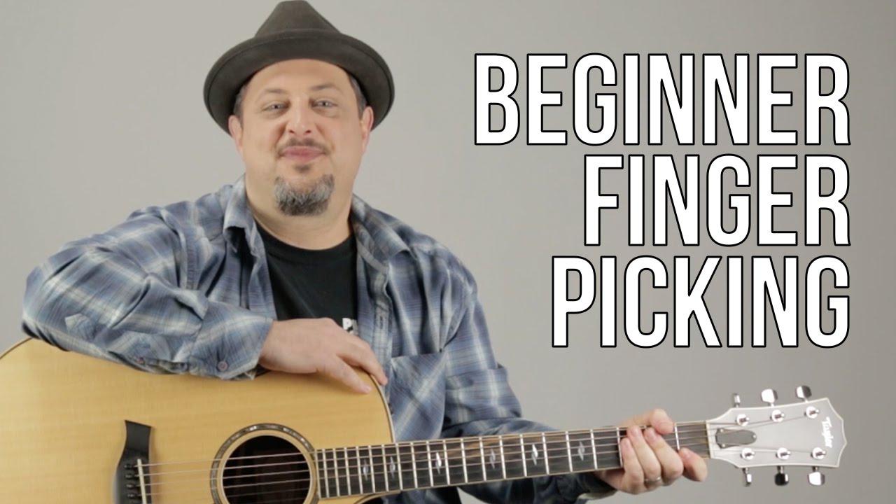 Beginner Fingerpicking Guitar Lesson – How to play Fingerstyle Guitar For a Beginner