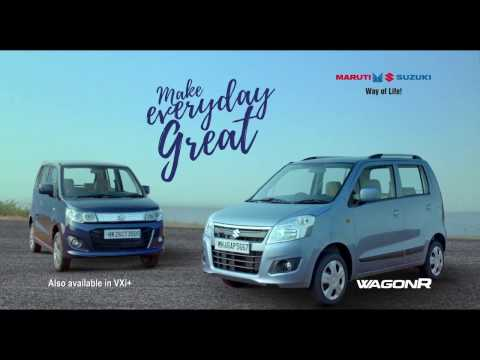 Maruti Suzuki-WagonR | Make Everyday Great | Launch TVC