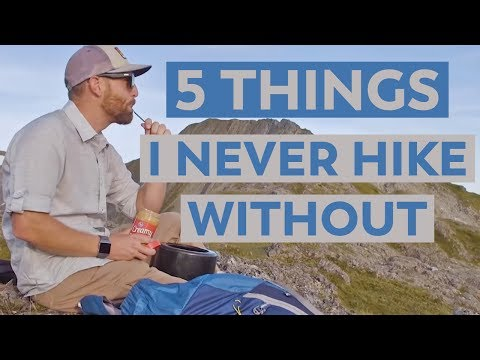 5 Pieces of Backpacking Gear I Never Hike Without