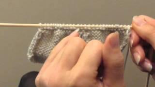 Cours de tricot 14 - tricoter des chaussons - YouTube