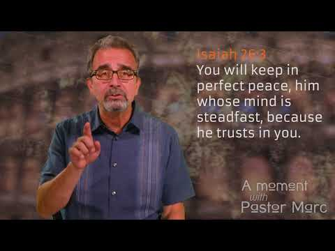 """A Moment with Pastor Marc #55<br /><strong>""""Focus""""</strong>"""