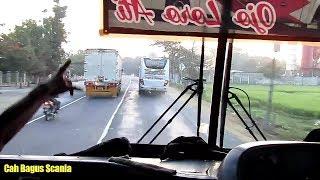 Video Aksi koplak bus Mira 7281 ngejar SugengRahayu,menyalip 3 truck mepet tipis MP3, 3GP, MP4, WEBM, AVI, FLV Juni 2018