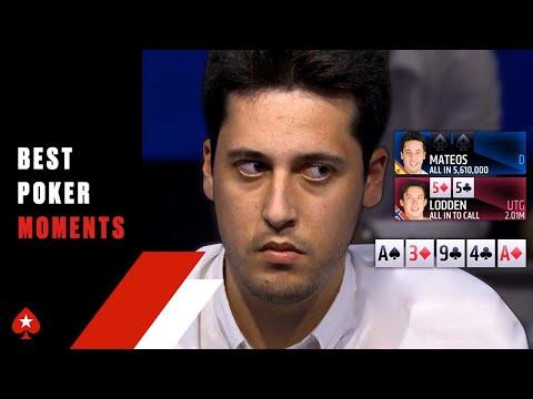 Mateos SHOWS an EPIC BLUFF ♠️ Best Poker Moments ♠️ PokerStars