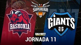 THUNDERX3 BASKONIA VS GIANTS GAMING - #SuperligaOrangeCOD11 - Jornada 11 - T12
