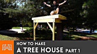 Video How to Make a Treehouse Part 1 MP3, 3GP, MP4, WEBM, AVI, FLV Juli 2019