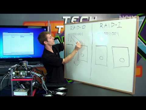 RAID 0 - This episode of NCIX Tech Tips Linus is going to show you all the steps to set up RAID 0 & RAID 1 in your system. This video is part of his series of RAID Se...