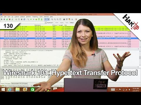 Wireshark 101: Hypertext Transfer Protocol, HakTip 130