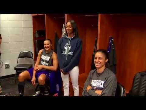 meets - Mo'ne Davis attended game 2 in Minnesota and had the chance to meet members of the Lynx and Mercury pregame. Visit wnba.com/video for more highlights.