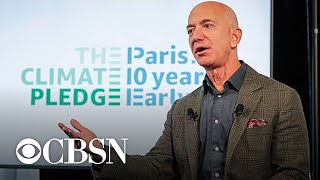 Jeff Bezos pledging $10 billion of his fortune to fight climate change