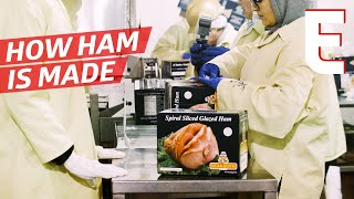 Watch Thousands of Honey Glazed Hams Being Made — The Process by Eater