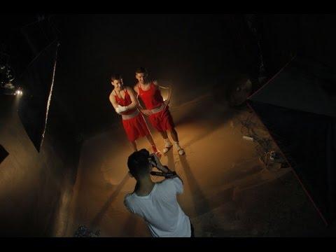 Олимпийская платформа - Backstage фотосъемки лучших представителей единоборств